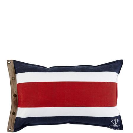 Cape Cod Cushion Red