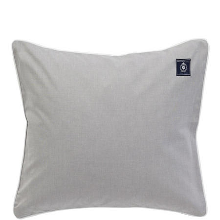 Oxford Grey Square Pillowcase