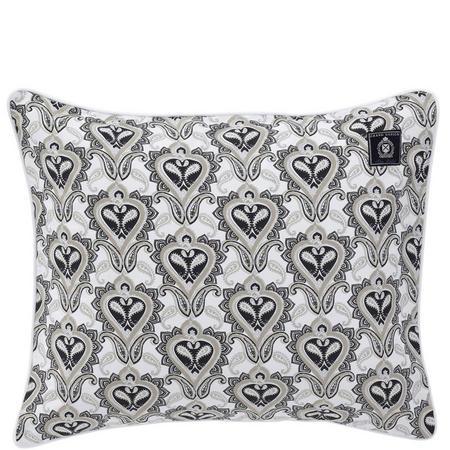 Paisley Black Standard Pillowcase