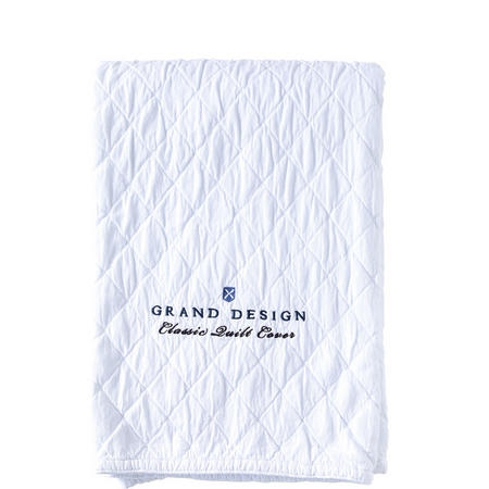 Classic Quilt Bedspread White