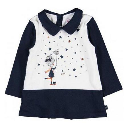 Baby Girl Star Catcher Dress Blue