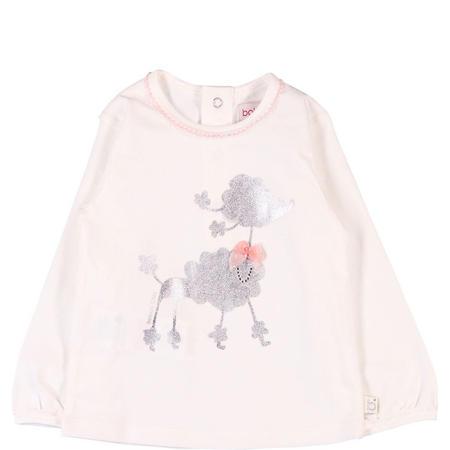 Poodle T-Shirt Cream