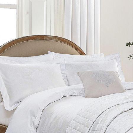 Hortensia White Standard Pillowcase
