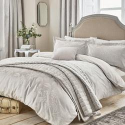 Hortensia Silver Coordinated Bedding