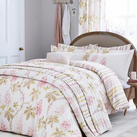 Chestnut Tree Pink Duvet Cover Set
