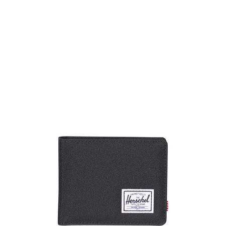 Roy Fold Over Wallet Black