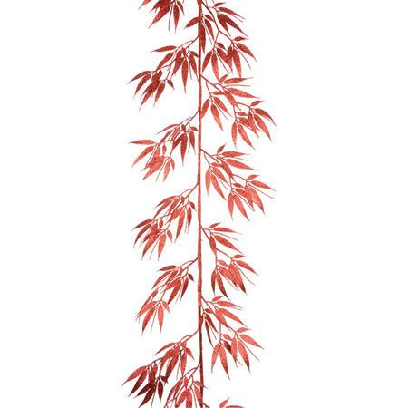 Slender Leaf Garland Red