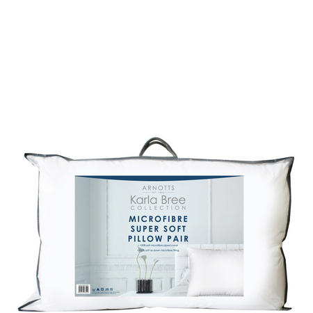 Microfibre Supersoft Pillow Pair