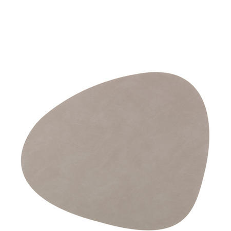 Tablemat Large Curve 37 X 44 Cm Light Grey  Nupo Grey