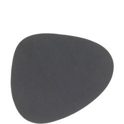 Tablemat Coaster Curve 11 X 13 Cm Nupo Grey