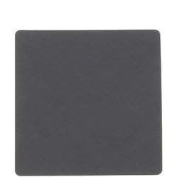 Tablemat Coaster Square 10 X 10 Cm Nupo Grey