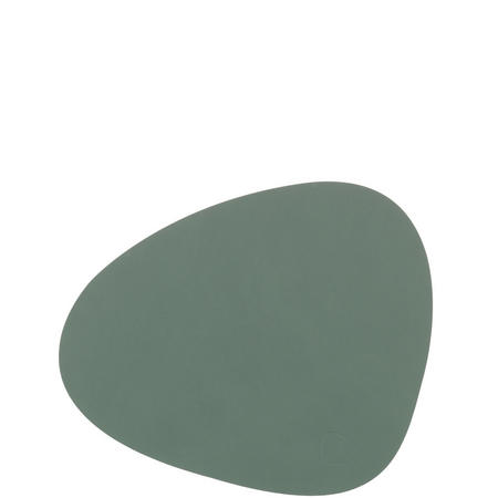 Tablemat Small Curve 24 X 28 Cm Pastel Green Nupo  Green