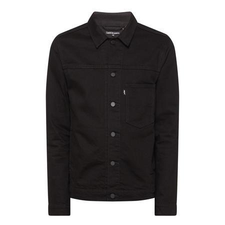Trucker Denim Jacket Black