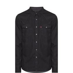 Denim Western Shirt Black