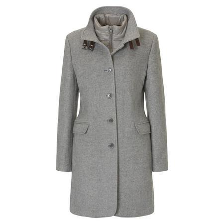 Outdoor Tailored Coat Light Grey