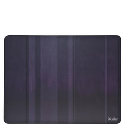 Colours Place Mats Set of Six Purple