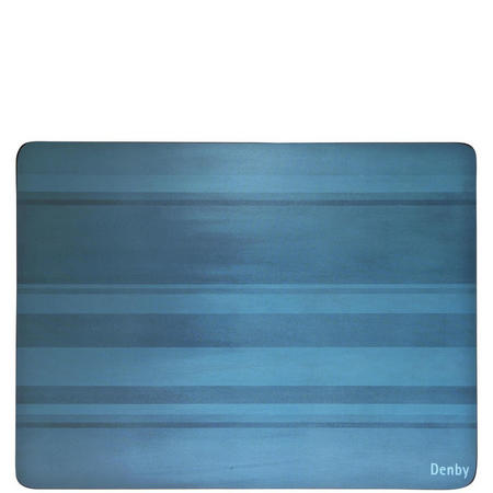 Colours Place Mats Set of Six Blue