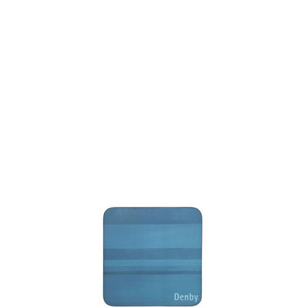 Colours Coasters Set of Six Blue