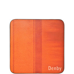 Colours Orange Coasters Set of 6 Orange
