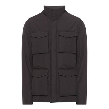 Four Pocket Field Jacket Black