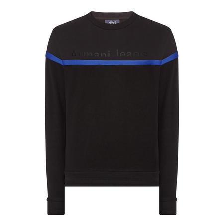 Embroidered Logo Sweatshirt Black