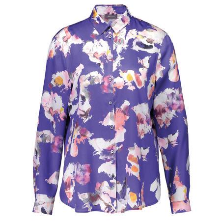 Abstract Print Shirt Blouse Multicolour