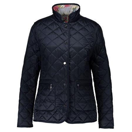 Diamond Quilt Jacket Navy
