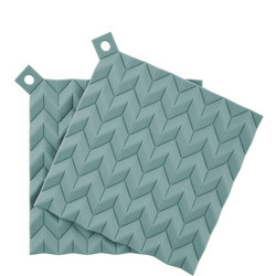 Rig Tig Hold-On Pot Holders Green