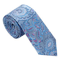 Paisley Silk Tie Multicolour
