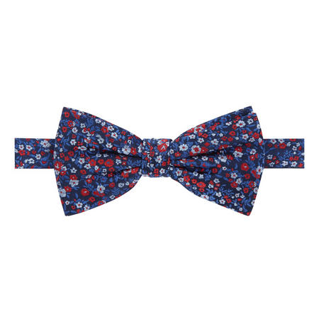 Floral Pattern Tie Multicolour