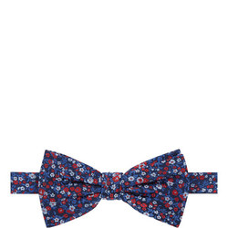 Floral Pattern Tie Multicolour