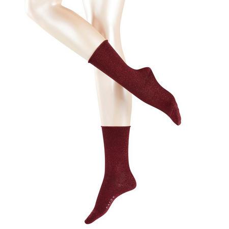 Shiny Socks Red