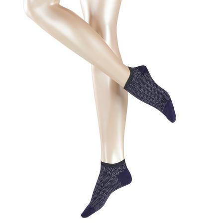 Wild Chic Sneaker Socks Navy
