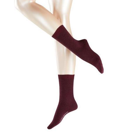 Cosy Wool Socks Red