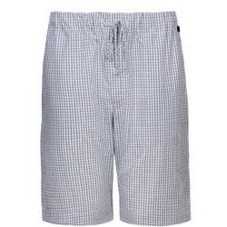 Woven Pyjama Shorts Charcoal