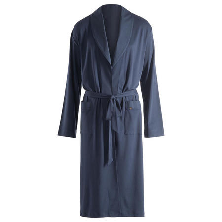 Night and Day Jersey Robe Blue
