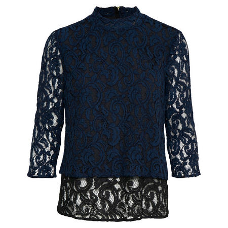 Marley Lace Top Blue