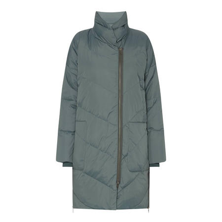 Tronja Quilted Coat Green