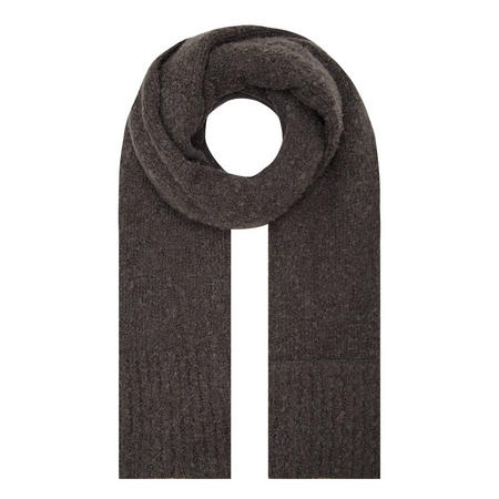 Alda Textured Scarf Grey