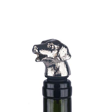 Vinology Dog Bottle Stopper/Pourer