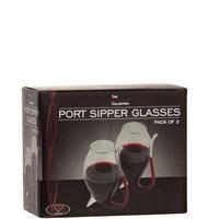 Vinology Port Sipper Glasses Set of 2 Clear