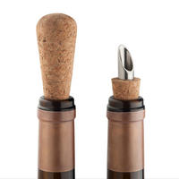 Final Touch Cork Wine Pourers Set of 2