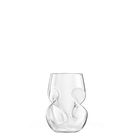 Final Touch Conundrum White Wine Glasses Set of 4 Clear