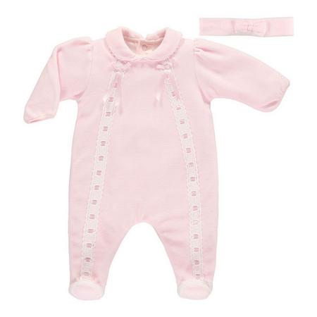 Lynette Babysuit Pink