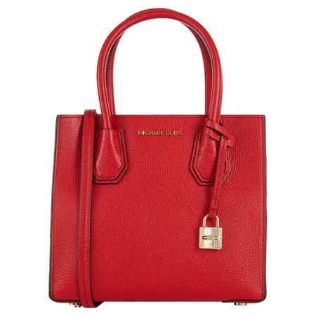 Mercer Tote Bag Medium Bright Red