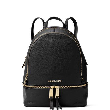 Rhea Medium Backpack Black