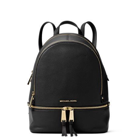 Rhea Medium Backpack Black