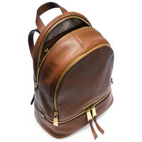 Rhea Leather Backpack Medium Tan