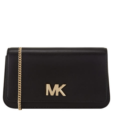 Mott Clutch Bag Large Black