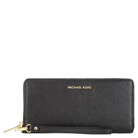 Mercer Continental Wallet Black
